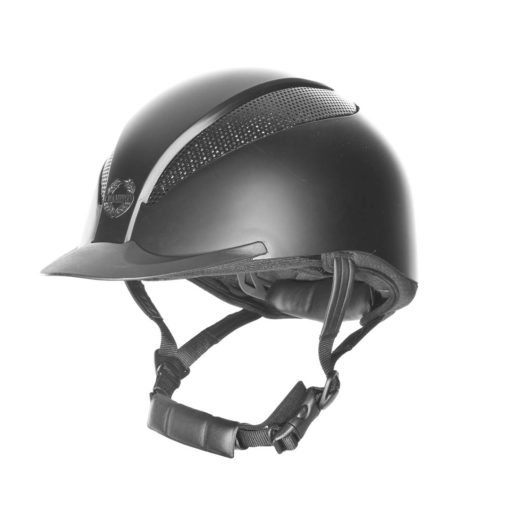 Champion-riding-helmet-AirTech-Deluxe-Black-Silk